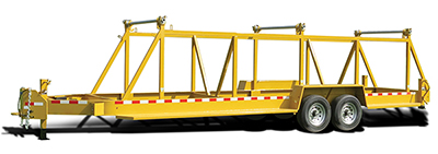 American Eagle ICD Drop-On Cable Utility Reel Trailer