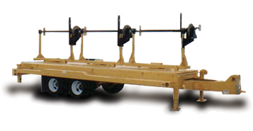 American Eagle ICT Turret Base Utility Reel Trailer