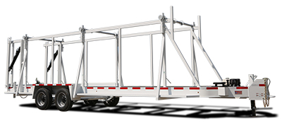 American Eagle ICD-SL Self Loading Cable Utility Reel Trailer