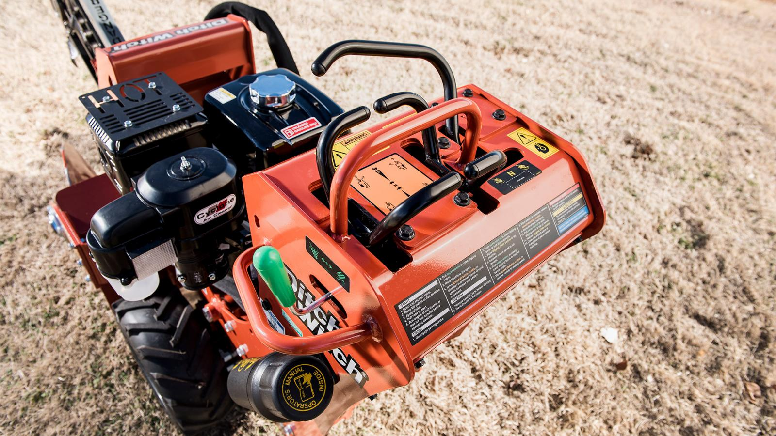 Ditch Witch C12 Walk-Behind Trencher