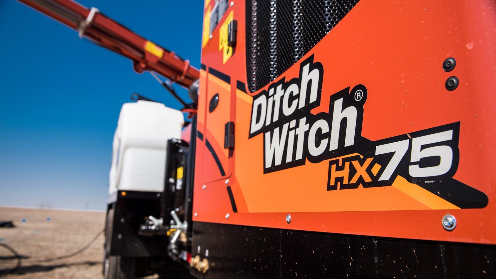 Ditch Witch HX75 Vacuum Excavator