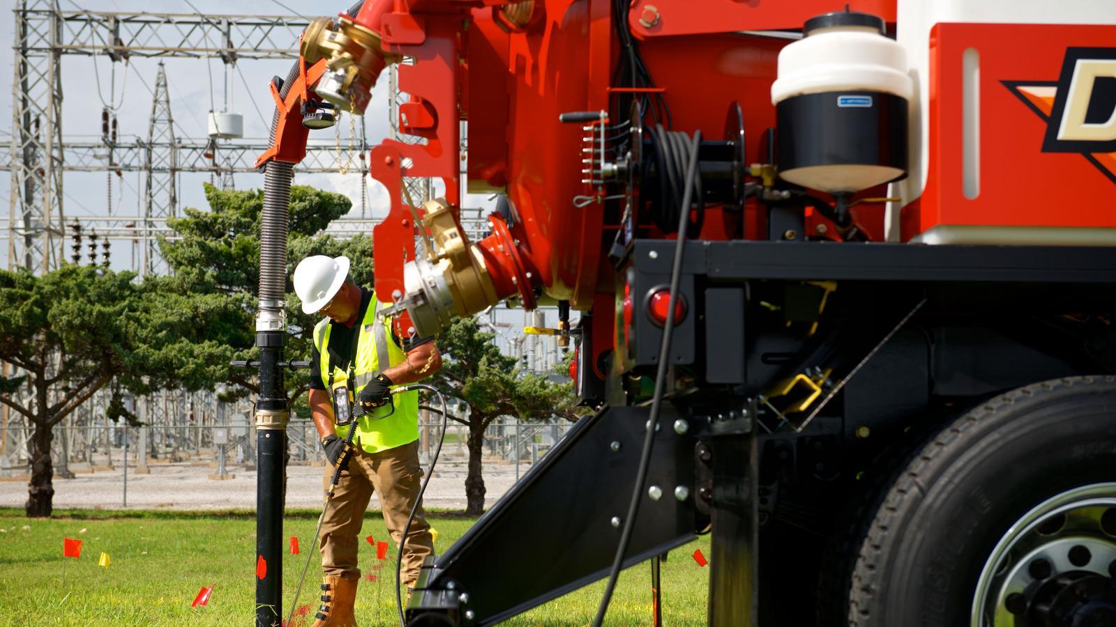 Ditch Witch FXT30 Truck Vacuum Excavator