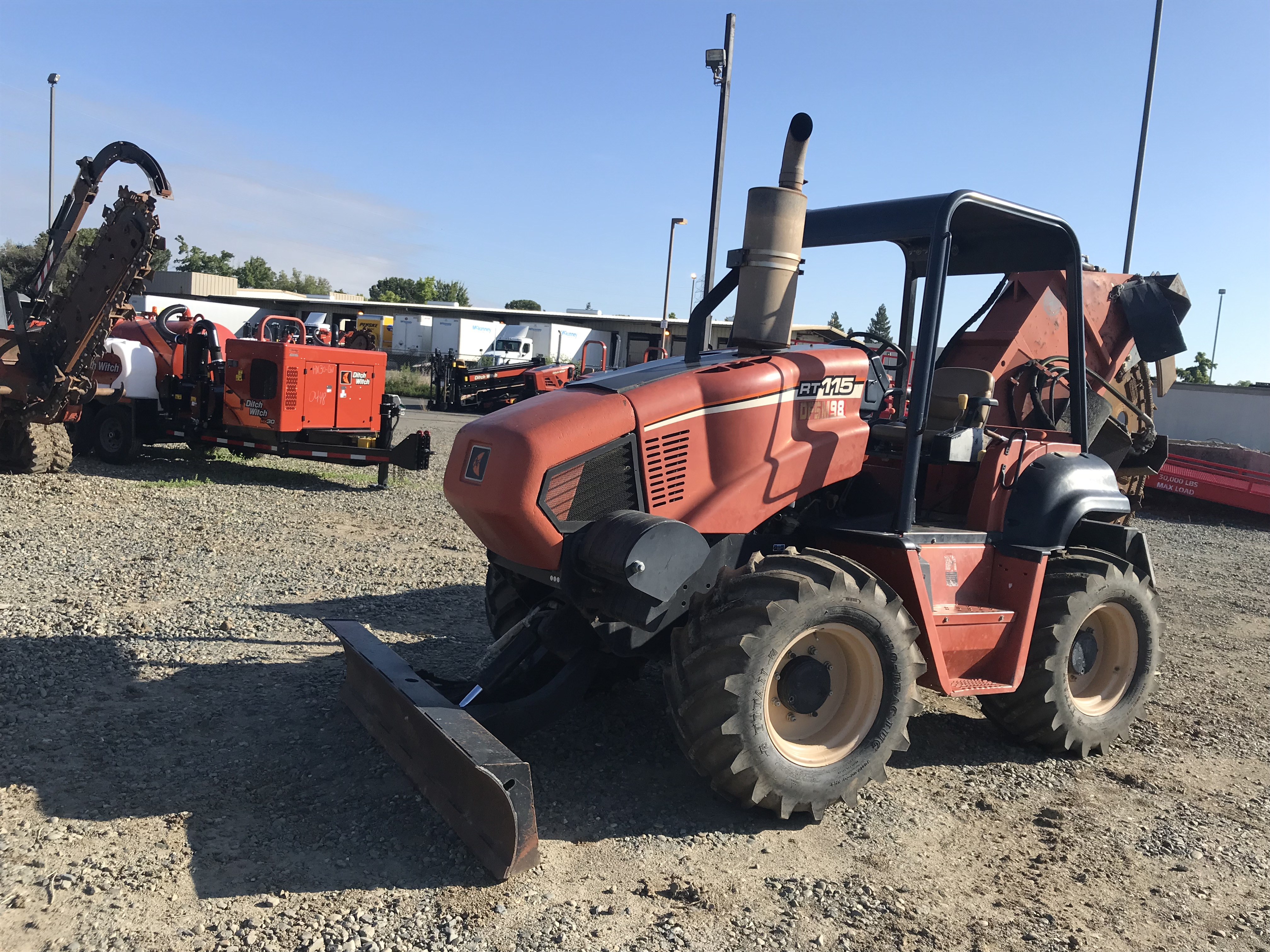 2007 Ditch Witch RT115H