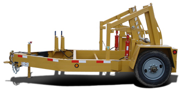 American Eagle ICH Self-Loading Reel Trailer