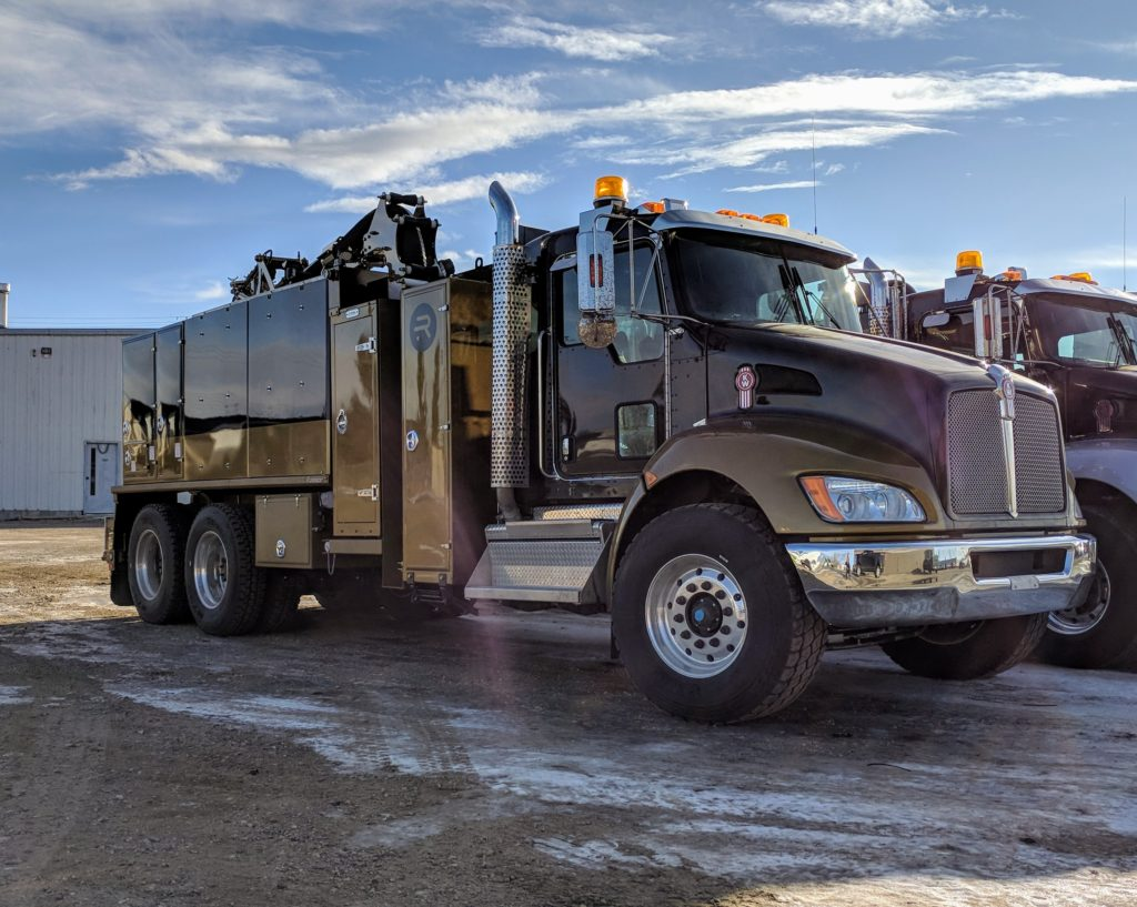 Hydro Vacuum Trucks Equipment Image