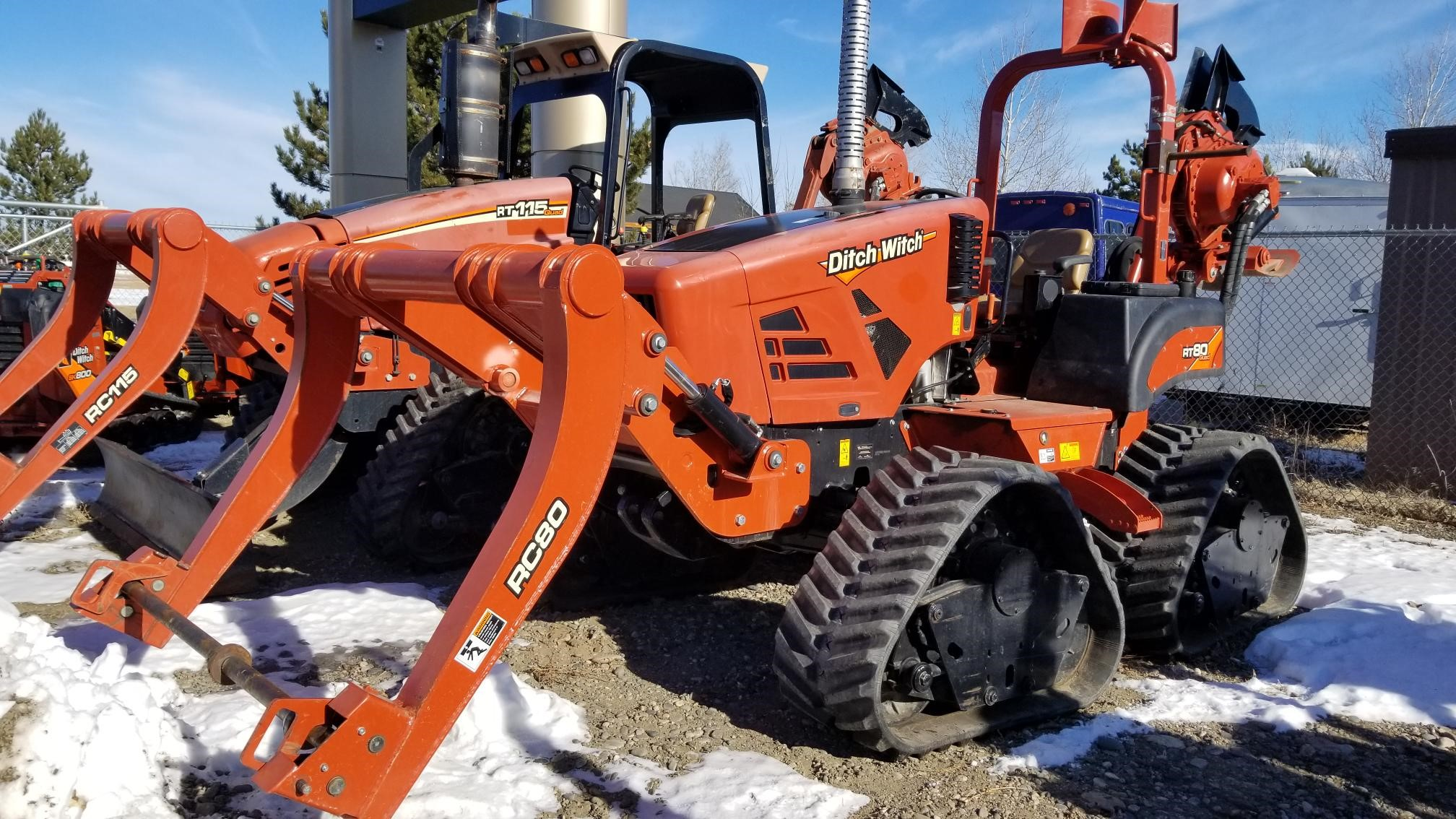 2017 Ditch Witch RT80Q