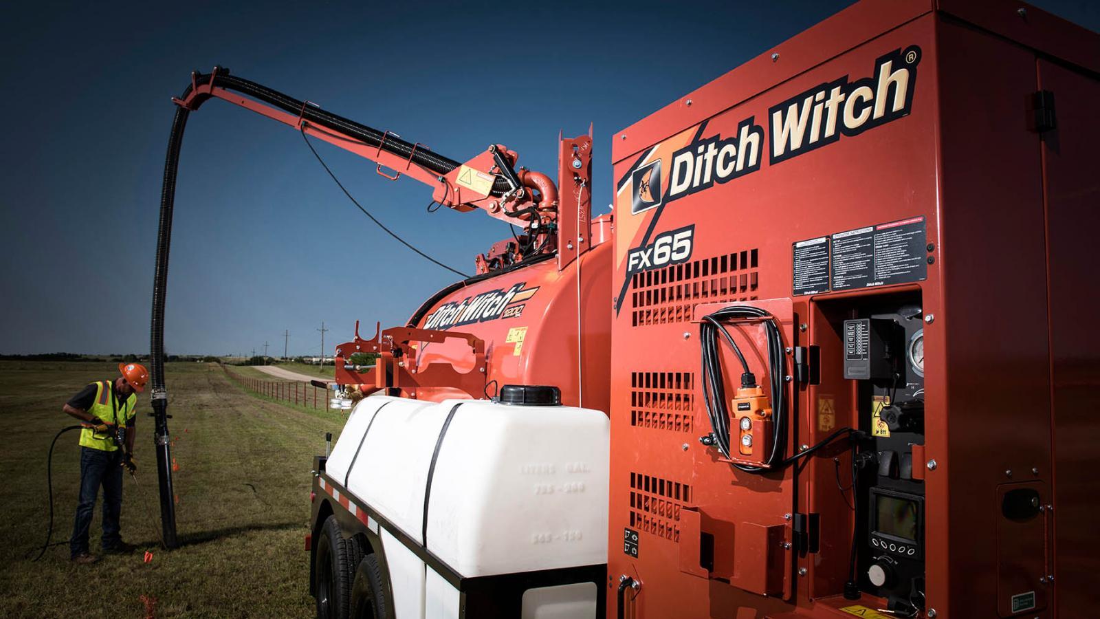 Ditch Witch FX65 Vacuum Excavator