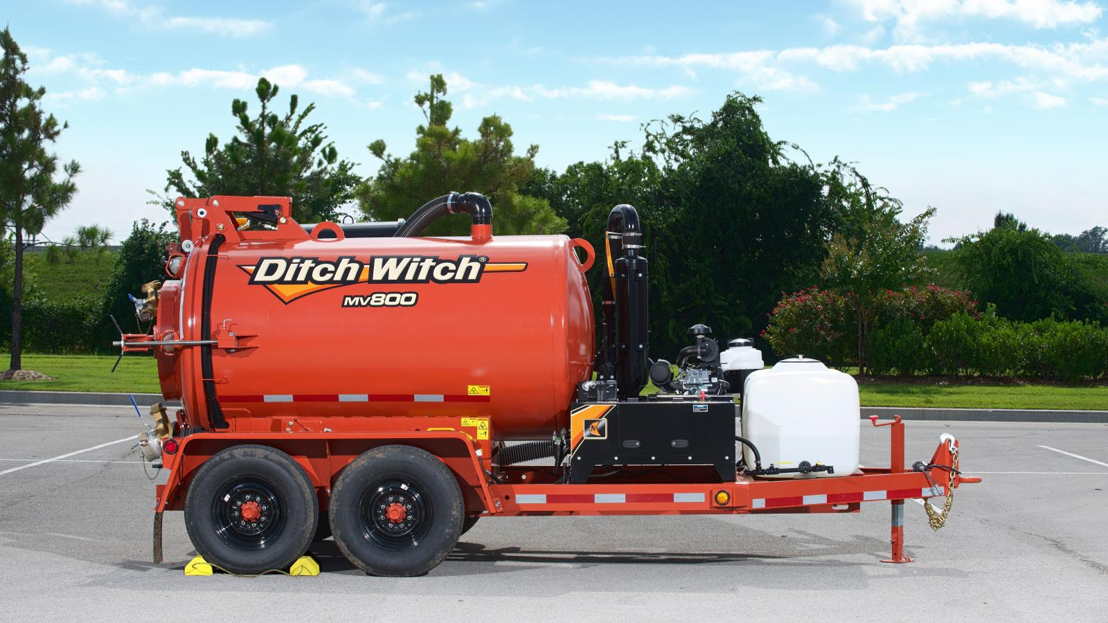Ditch Witch MV800 Mud Vacuum