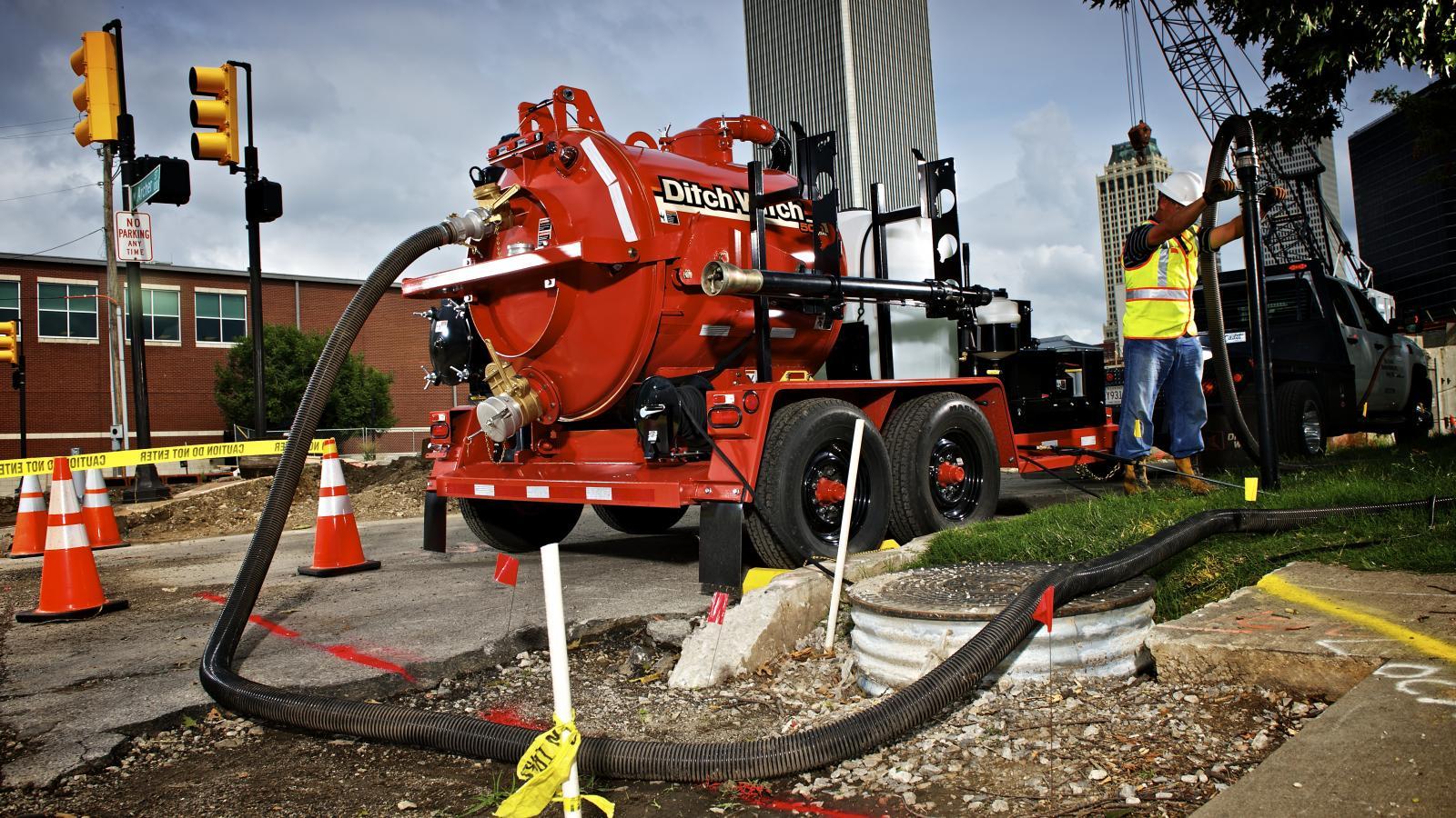 Ditch Witch FX25 Vacuum Excavator