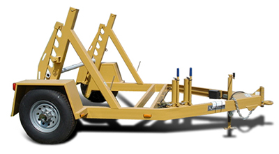 American Eagle ICH-CG Self-loading Cable Utility Reel Trailer