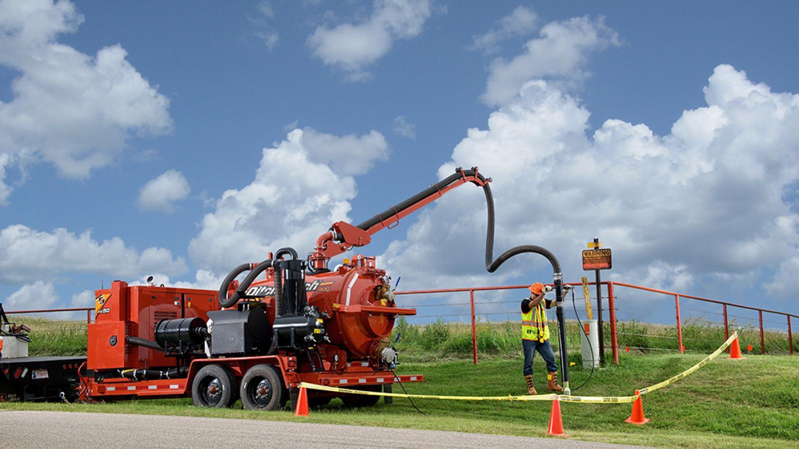Ditch Witch FX50 Vacuum Excavator