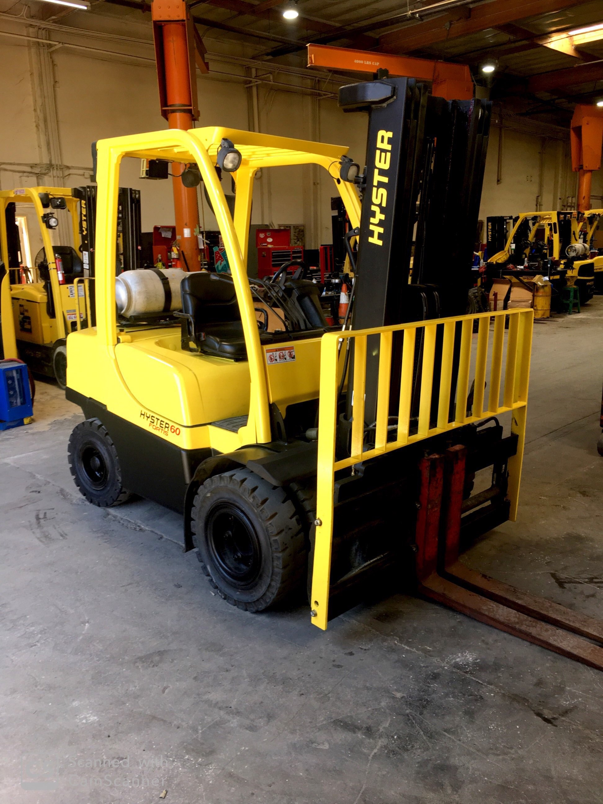2007 Hyster H60FT