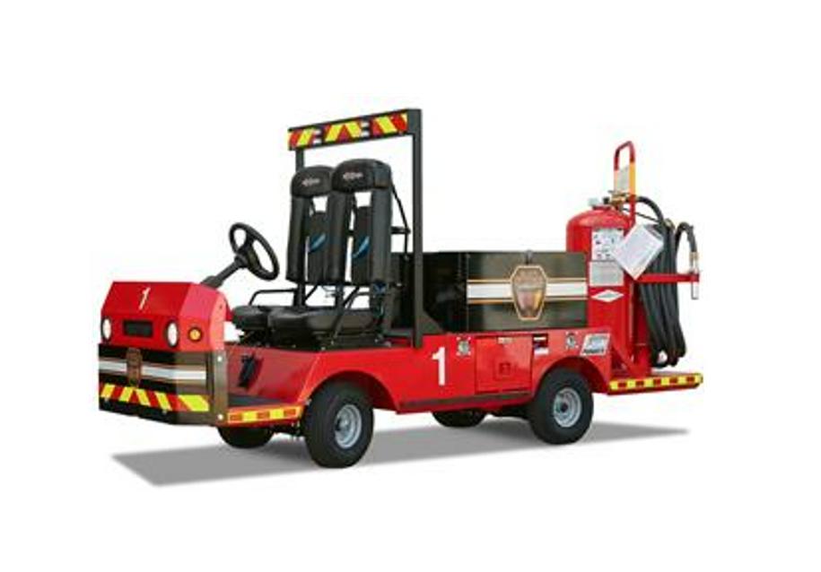 TaylorDunn Bigfoot fire truck