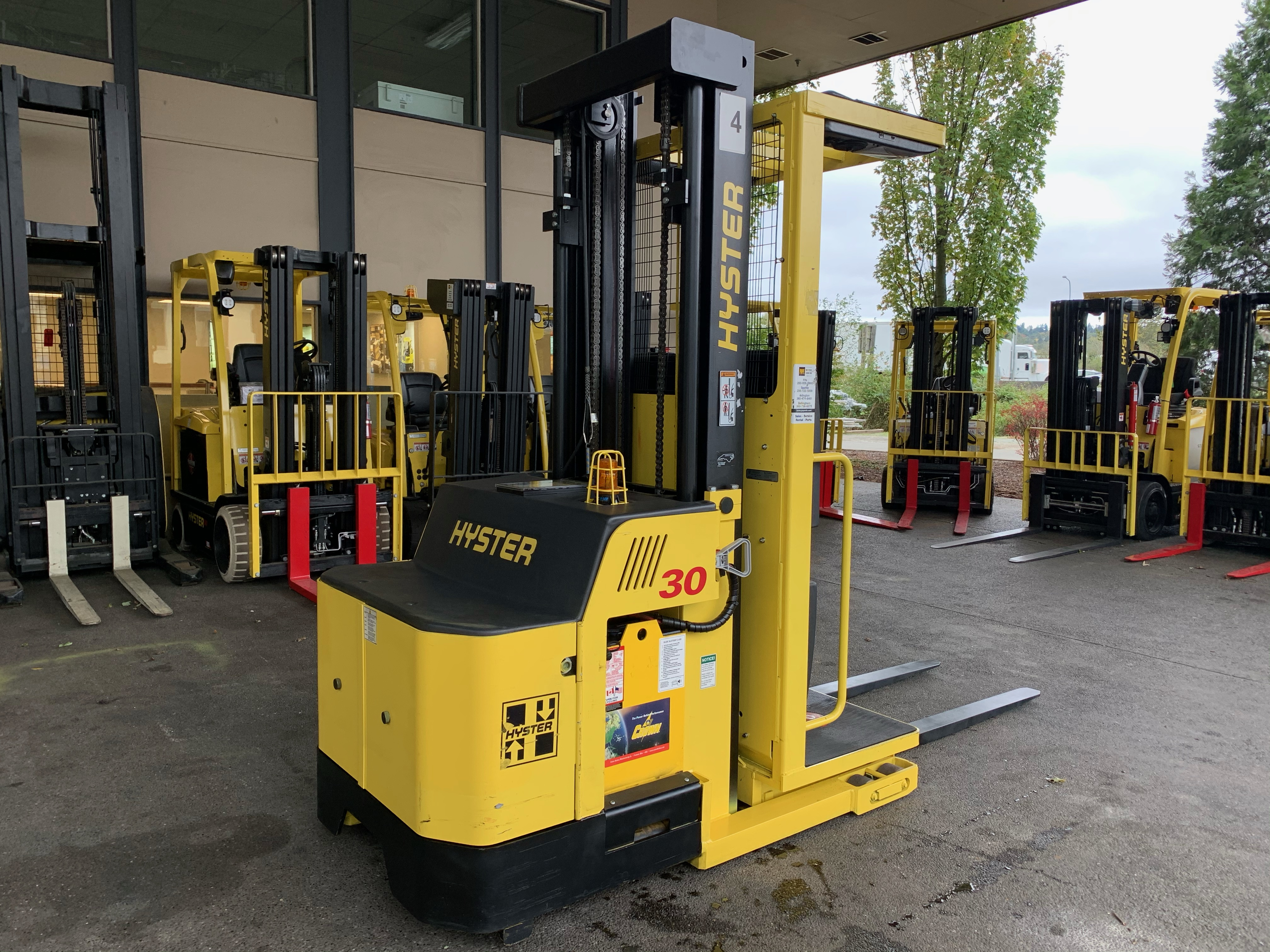 2014 Hyster R30XMS