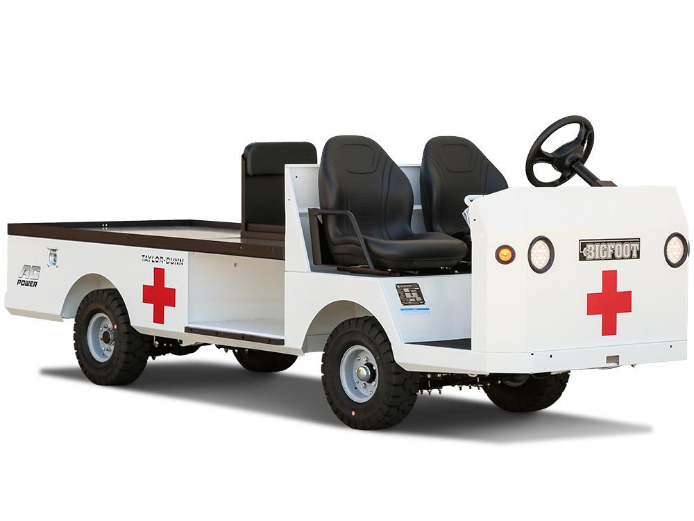 TaylorDunn Bigfoot ambulance -D