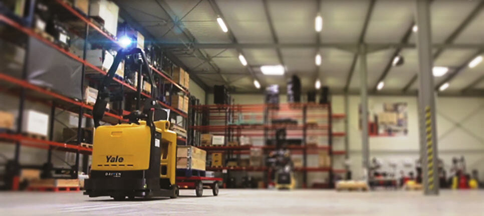 yale robotic lift truck