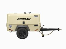Doosan P185WDO-T4F Portable Air Compressor