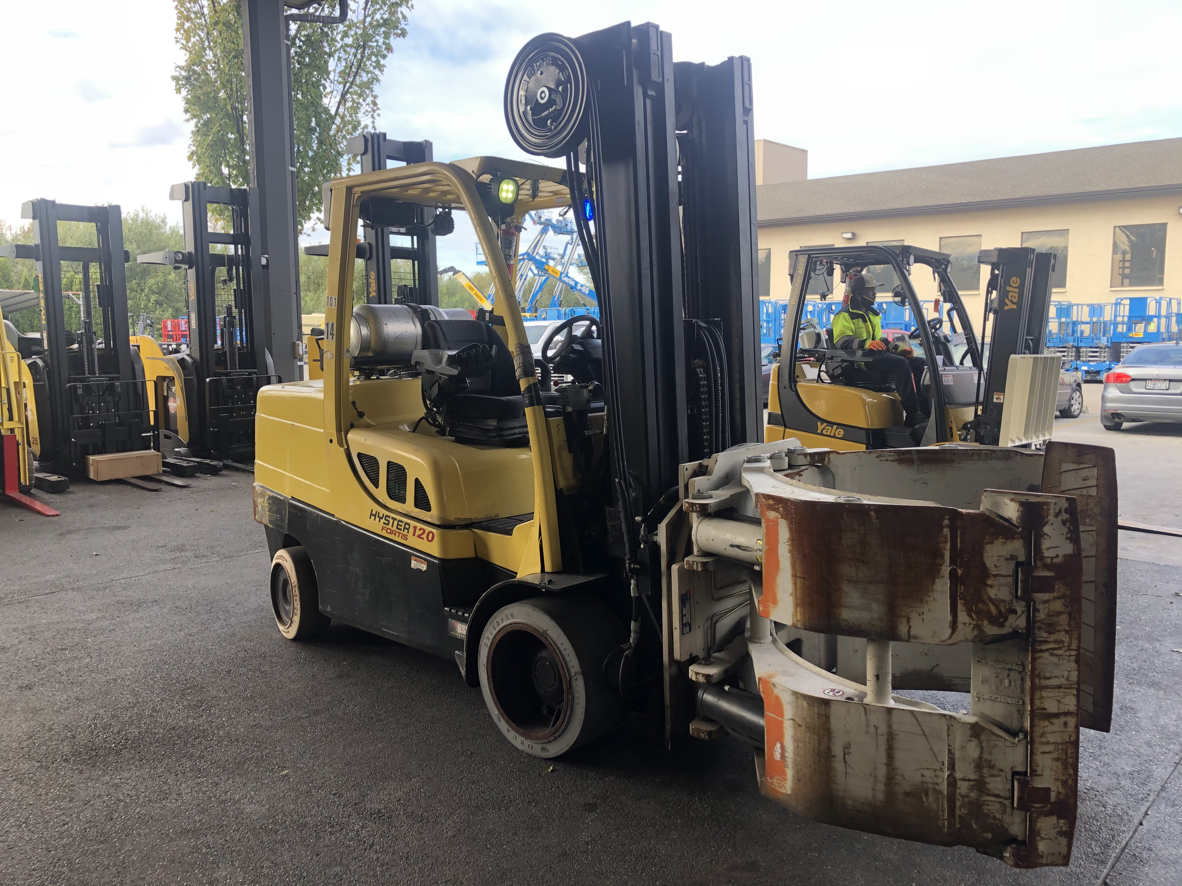 2014 Hyster S120FT