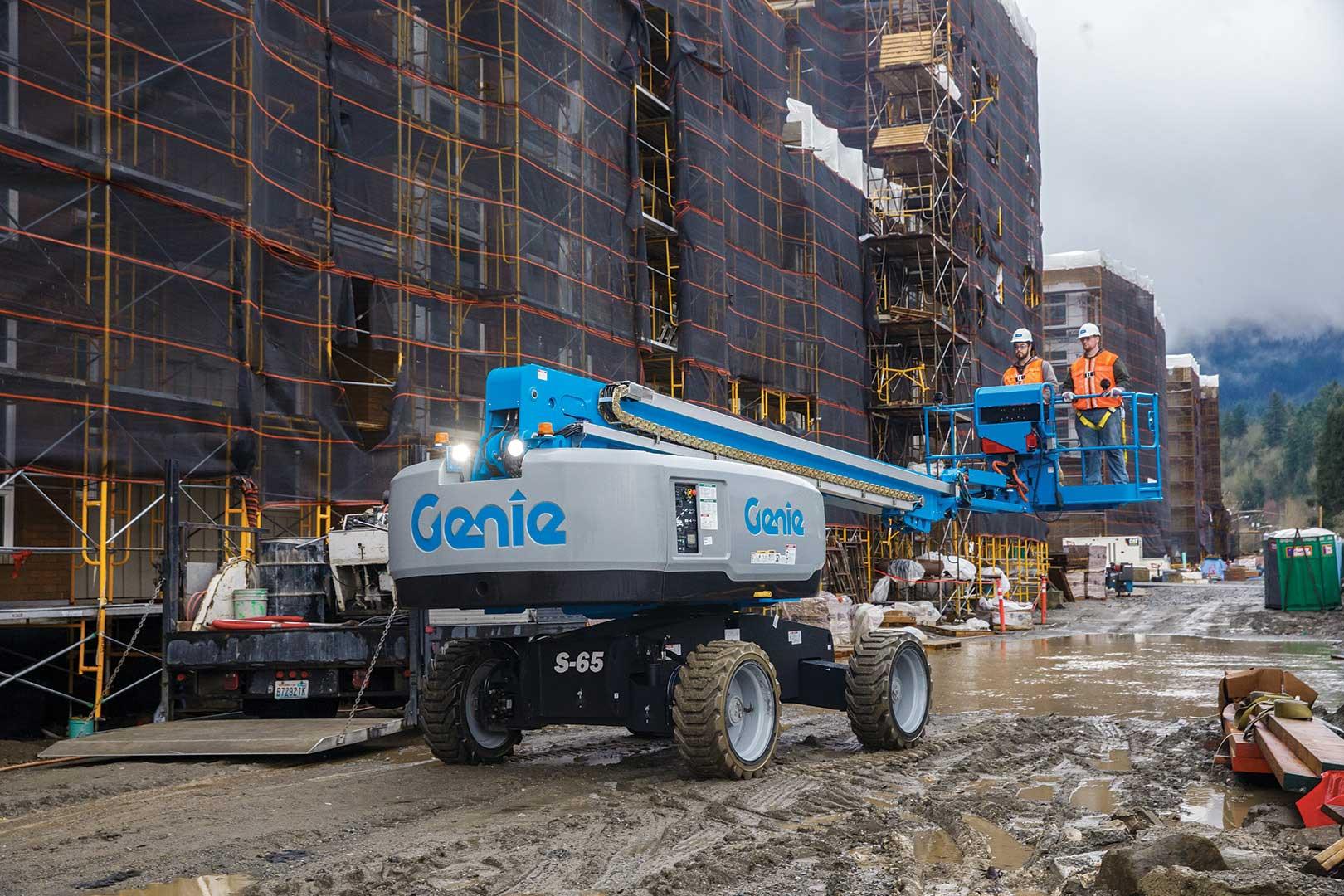 Genie S-60X and S-65