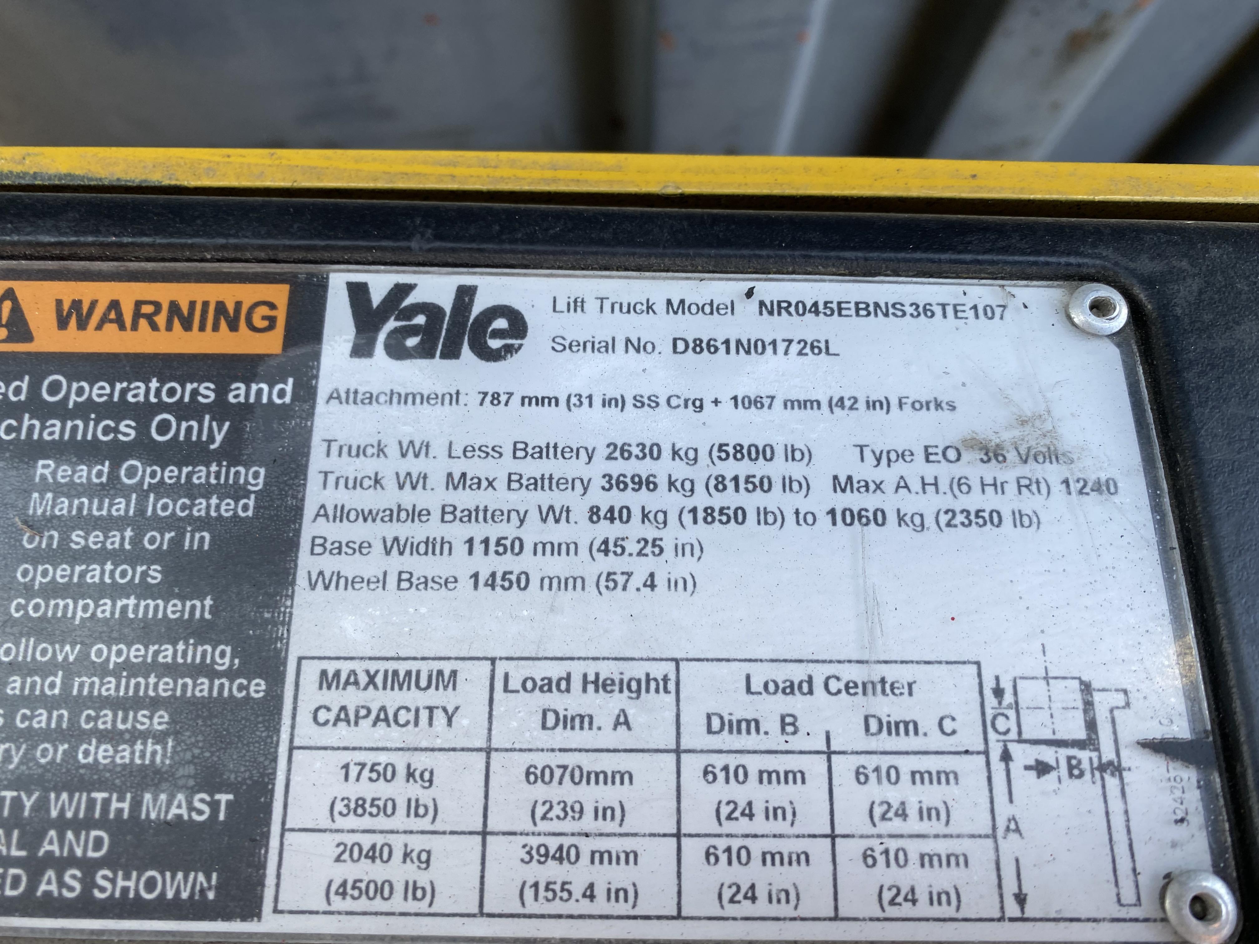 Yale NR045