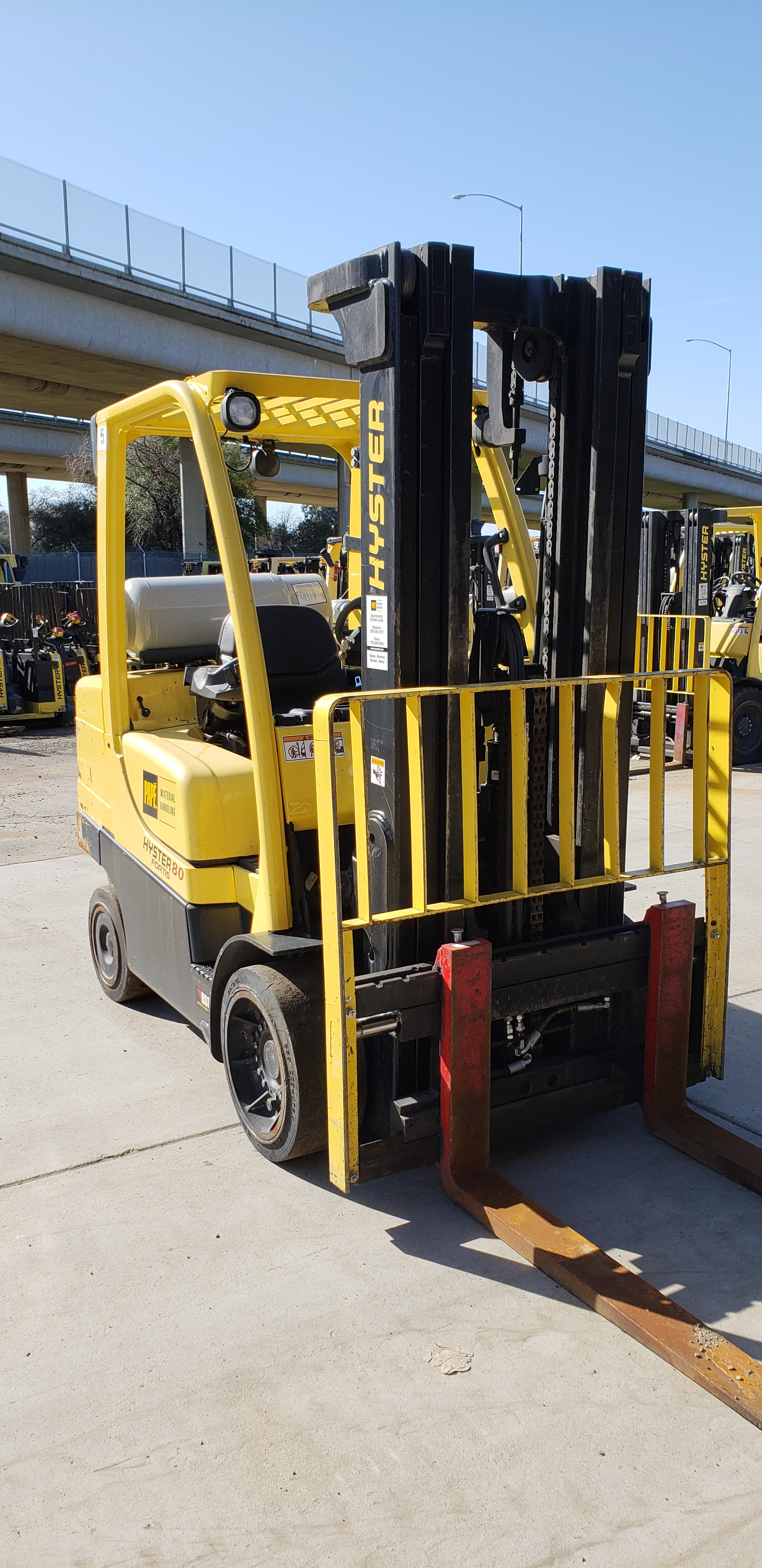 2012 Hyster S80FT