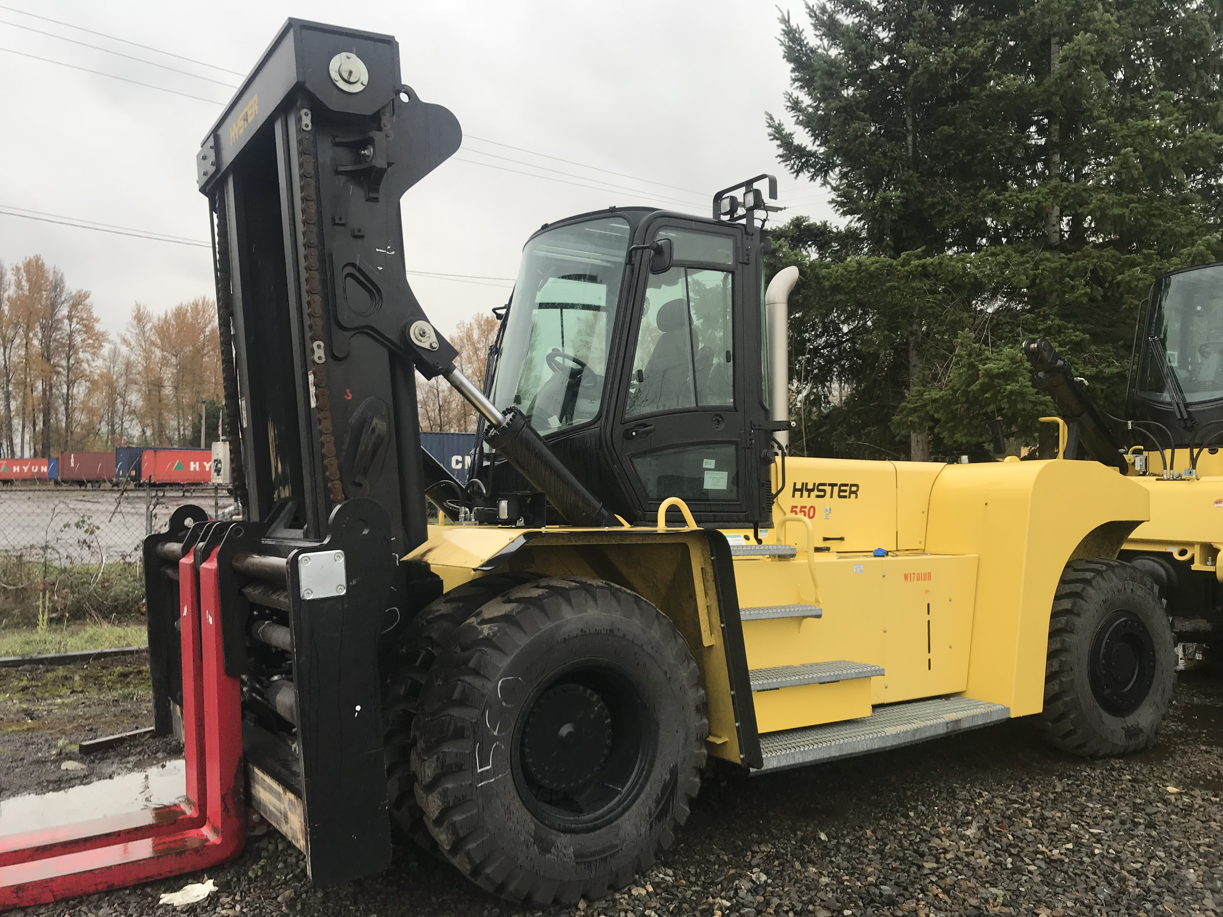 2015 Hyster H550HD