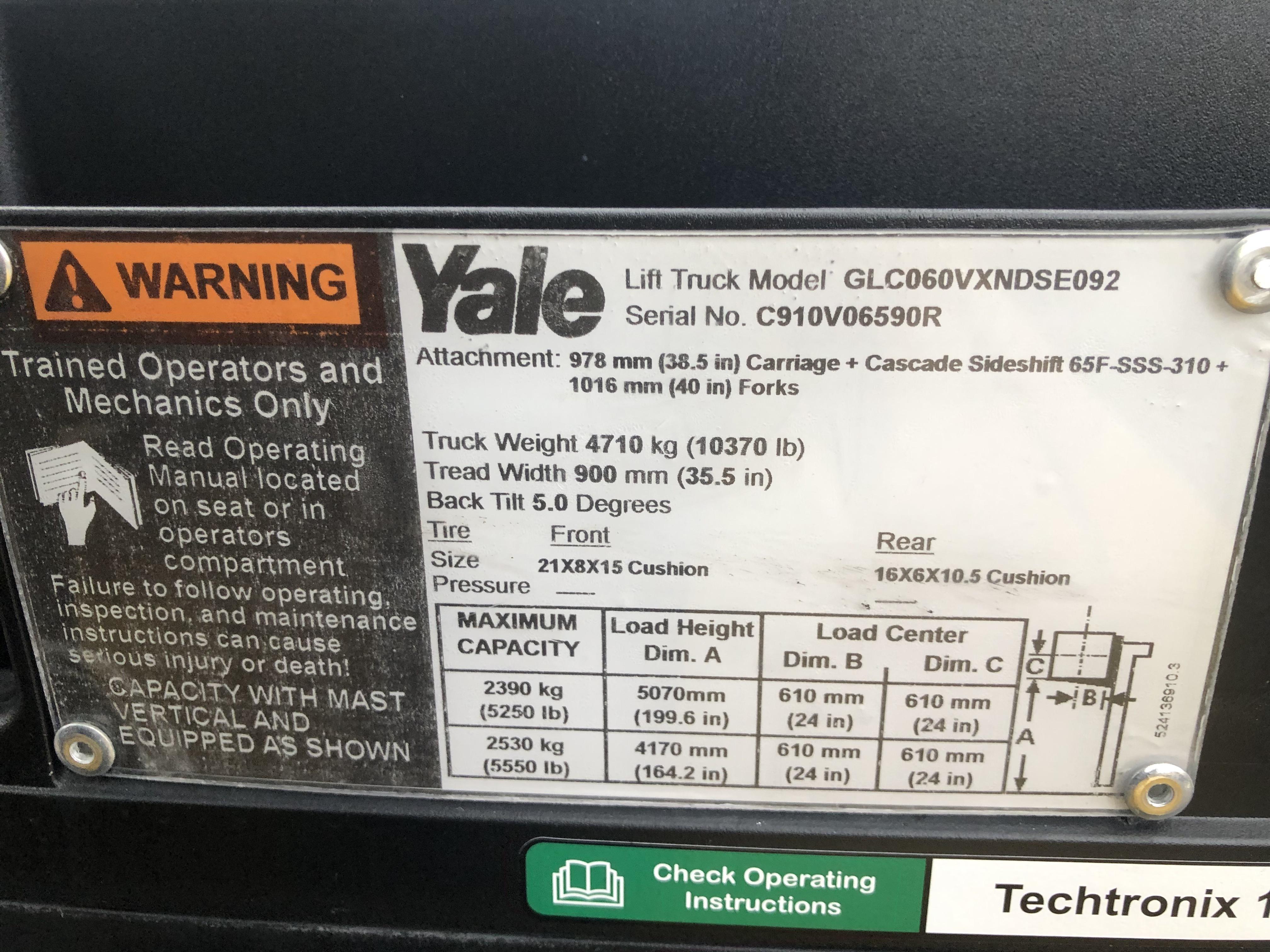 2017 Yale GLC060