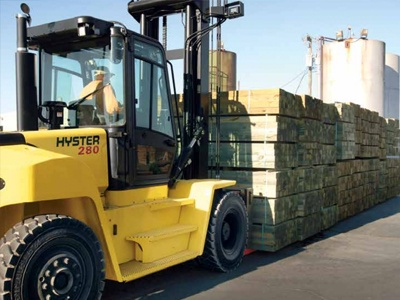 High Capacity Forklift Trucks Equipment Image